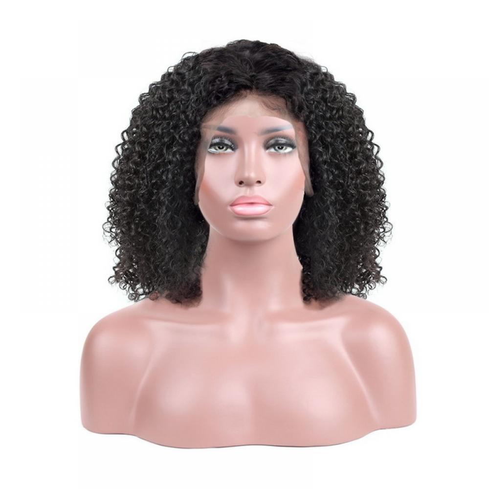 Buy Cheap Human Hair Kinky Curly Short Bob Lace Front Wigs From Uyasi